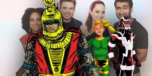 Eternals Movie DOES Include A Gay Hero, Kevin Feige Confirms