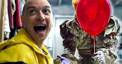 IT 2 Star James McAvoy Admits Pennywise Freaked Him Out On