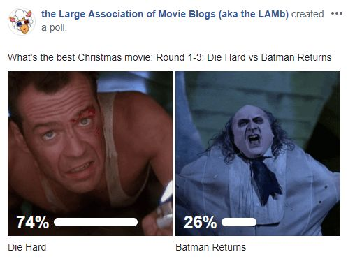 LAMBracket: Best Christmas Movie Round 1-4 Results