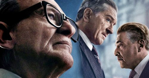 Scorsese's The Irishman Poster Unites Robert De Niro, Joe