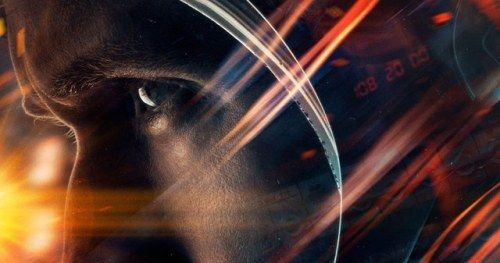 First Man Poster with Ryan Gosling as Neil Armstrong, First