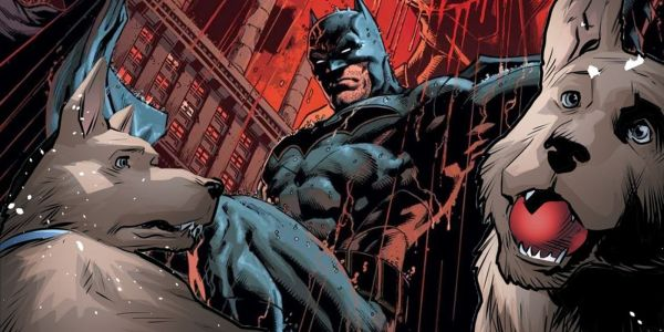 Batman's Dogs Help Him Deal With Alfred's Tragic Death