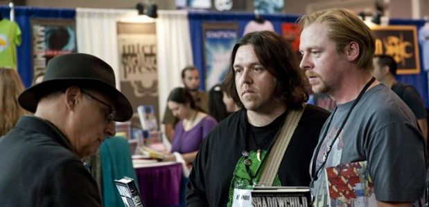 Simon Pegg and Nick Frost Are Working on a TV Series Adaptation of Fantasy Books 'Rivers of London'