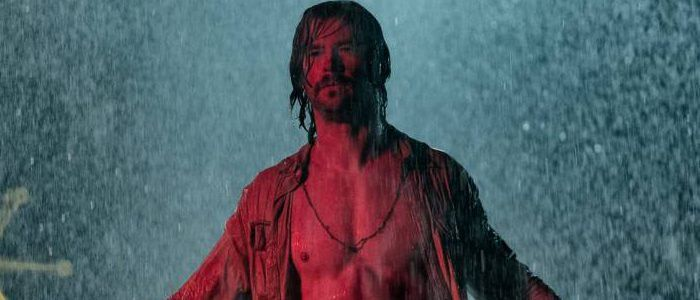 'Bad Times at The El Royale' First Look Photos: Chris Hemsworth Needs an Umbrella