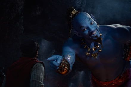 Will Smith goes big and blue in first trailer for live-action 'Aladdin' movie