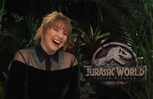 Bryce Dallas Howard & J. A. Bayona on Jurassic World: Fallen Kingdom