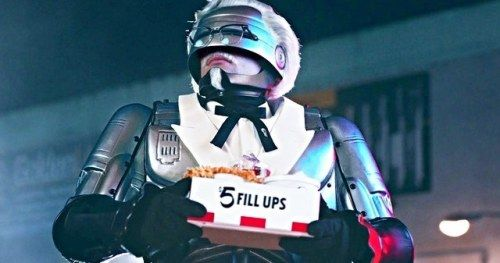 RoboCop Is KFC's New Colonel Sanders and It's Not a
