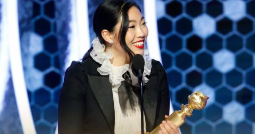 Awkwafina's Golden Globes Win Marks Historic First for