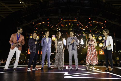 """The cast and filmmakers of Marvel Studios' """"Avengers:"""