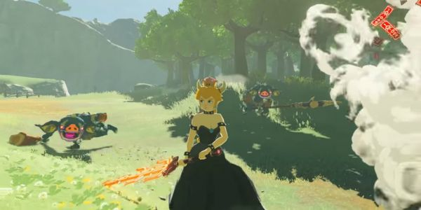 Yes, Bowsette is Now In The Legend of Zelda: Breath of the Wild