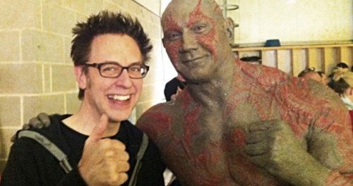 Dave Bautista Rushes to James Gunn's Defense Over
