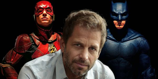 Zack Snyder Reveals New Justice League Art of Batman and Flash