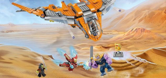 'Avengers: Infinity War' LEGO Sets May Reveal Some Potential Spoilers