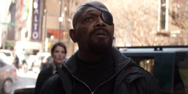 Samuel L. Jackson Is Not Pleased Spider-Man: Far From Home Marketing Got His Eye Patch Wrong