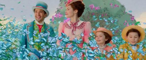 'Mary Poppins Returns' Clip: A Spinning Bowl Whisks Mary & Company to An Animated World