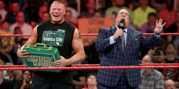 Brock Lesnar is WWE's Mr. Money in the Bank, But When Will He Cash In?