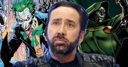 Nicolas Cage Thinks He'd Make a Perfect Joker or Doctor