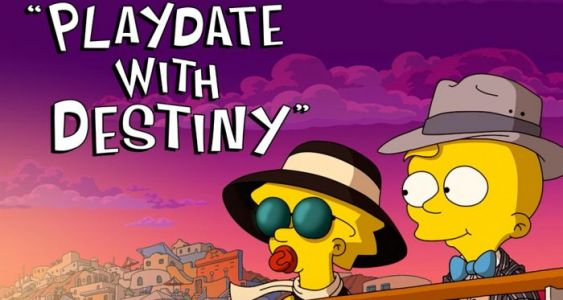 'The Simpsons' Short 'Playdate With Destiny' Arrives on Disney+ Tomorrow