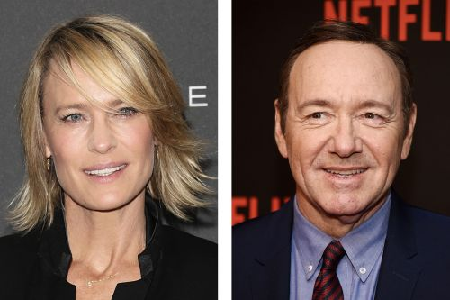 Robin Wright Breaks Silence On Kevin Spacey's 'House Of Cards' Scandal