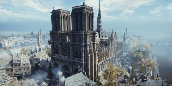 Assassin's Creed Series Is So Detailed It Could Help Rebuild Notre Dame