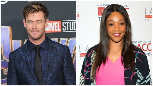 Paramount Wins Rights toHemsworth-Haddish Comedy Down Under Cover