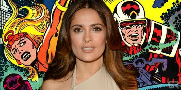Marvel's The Eternals Movie Eyes Salma Hayek For a Role