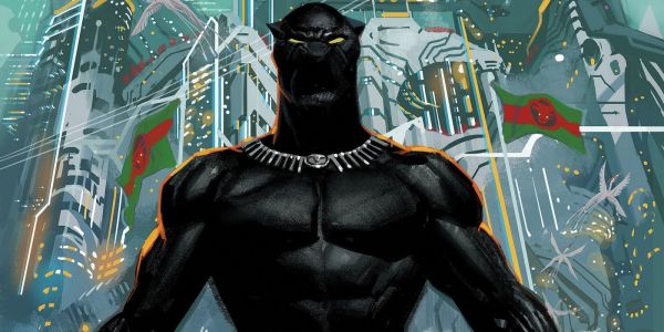 Marvel's Latest Relaunch Sends Black Panther Into Space