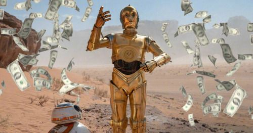 The Rise of Skywalker Lightspeed Skips Past $1 Billion at the