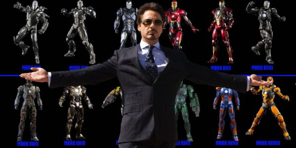 Every Iron Man Suit From the MCU in One Awesome Image