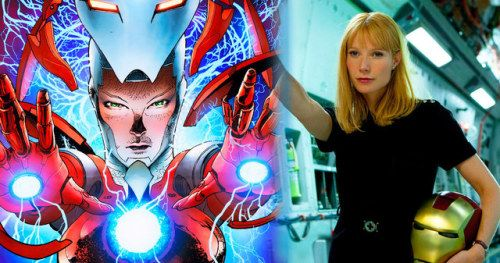 Avengers 4 Leak Shows Gwyneth Paltrow in Iron Man Rescue ArmorA