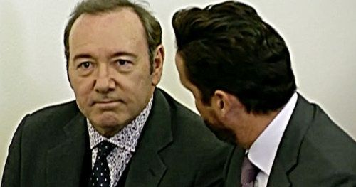 Kevin Spacey Enters Not Guilty Plea, Gets Pulled Over for