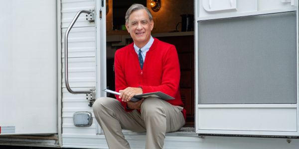 New Image of Tom Hanks As Mister Rogers Honors Fred Rogers' Birthday