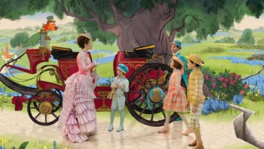 Mary Poppins Returns Clip Features Classic Blend of Live-Action, Animation