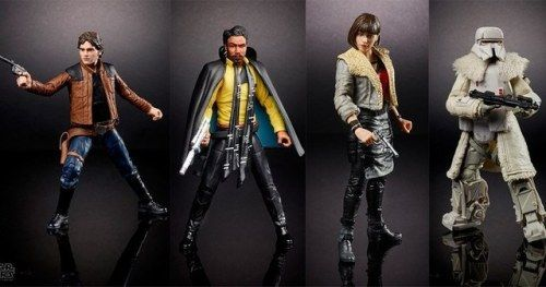 Han Solo Movie Toys, LEGOs, and Action Figures Officially