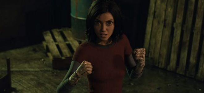 'Alita: Battle Angel' Clip: The Big-Eyed Cyborg Gets in a Back Alley Brawl