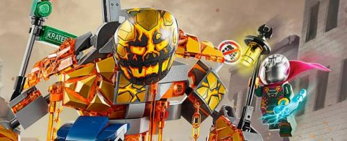 'Spider-Man: Far From Home' LEGO Sets Tease Action with Molten Man, Hydro Man & More