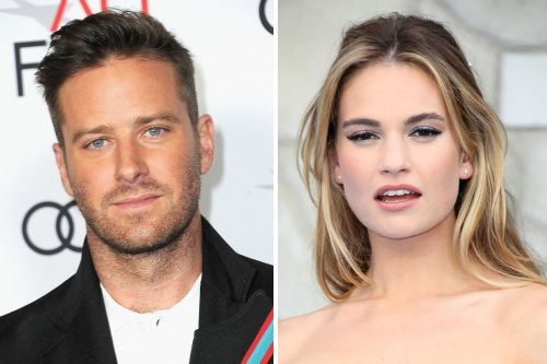 Armie Hammer and Lily James to Star in 'Rebecca' Adaptation at Netflix