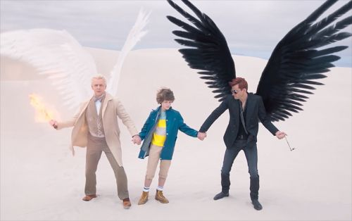 Second Good Omens Trailer From Neil Gaiman Debuts