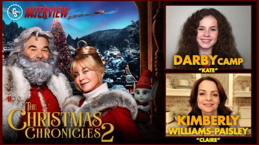 CS Video: The Christmas Chronicles 2 Interview With Camp & Williams-Paisley