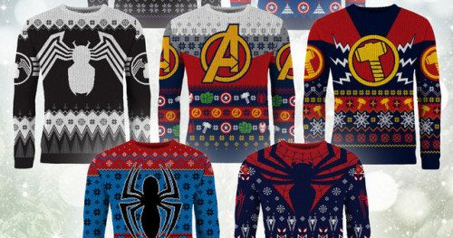 New Marvel Christmas Sweaters Are as Comfortable as They Are