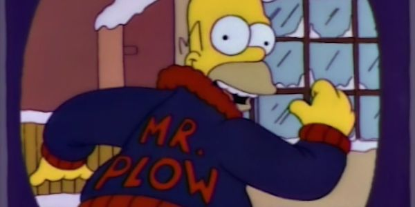 Of Course Liam Neeson's New Snowplow Driver Movie Is Leading To Mr. Plow Simpsons Jokes