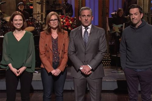 Steve Carell Puts Together An 'Office' Reunion On 'Saturday Night Live'