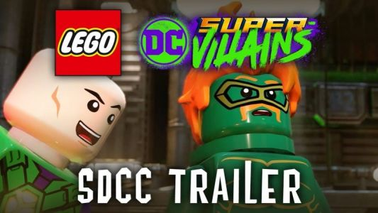 LEGO DC Super-Villains Trailer Debuts from Comic-Con