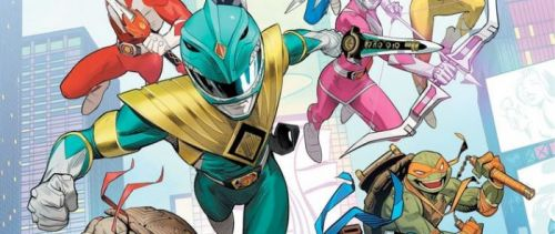 Mighty Morphin Power Rangers and Teenage Mutant Ninja Turtles Are Getting a Crossover Comic