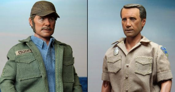 Jaws Quint and Brody Action Figures Unveiled by NECA