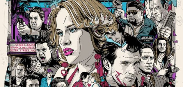 Cool Stuff: Tyler Stout Returns with a 'True Romance' 25th Anniversary Poster at Grey Matter Art