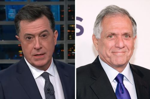 "Stephen Colbert Rips Former Boss Les Moonves with ""NCIS: Human Resources"" Joke"
