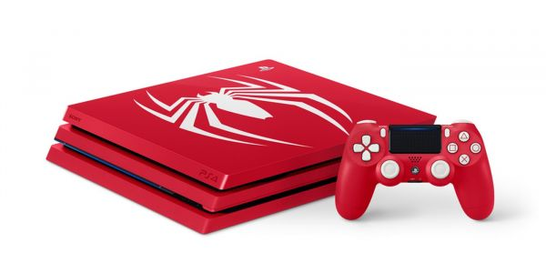 Limited Edition Spider-Man PS4 Pro Bundle Confirmed at Comic-Con