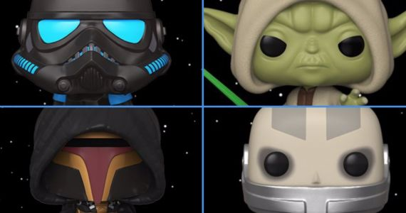 Star Wars Video Game Funko Pop! Figures Include Revan and Darth Malak