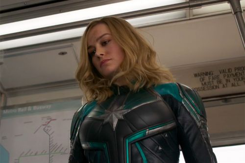 'Captain Marvel' Trailer Solves Mystery of Symbol at End of 'Avengers: Infinity War'